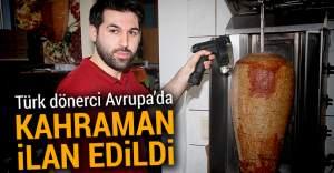 Türk dönerci, Almanya'da kahraman ilan edildi