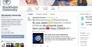 Türk hackerlar Stockholm Üniversitesi  Twitter hesabını hackledi