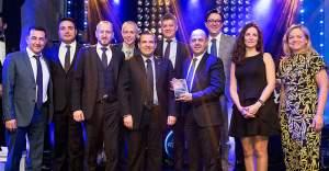 Türk  İş Makinaları İsveç'ten en iyi performans ödülü aldı