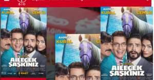 Türkiye'de gişe rekoru kıran ''Ailecek Şaşkınız'' filmi Stockholm'de  sinemalarda