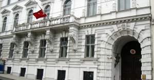 Viyana'da Türk Büyükelçiliği'ne çirkin saldırı
