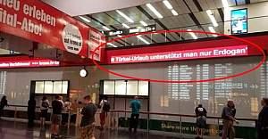 Viyana Havalimanı'ndaki Tartışmalı Yazı Kaldırıldı