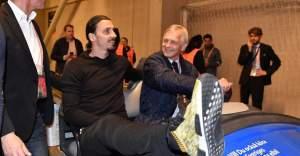 Zlatan Ibrahimovic, UEFA Avrupa Ligi finali için Friends Arena'da