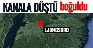 13 yaşındaki İsveçli çocuk kanala düşerek boğuldu