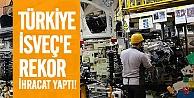 2014 yılında Türkiye Otomotvi alanında İsveç'e 362 milyon 116 bin liralık ihracat yaptı