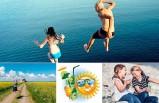 Güneş İsveç'e enerji ve mutluluk getirdi