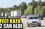İsveç'te meydana gelen kazada iki kişi öldü