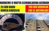 İsveç'te 25 bin kron borca karşılık 700 bin kronluk dairesini kaybetti