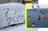 İsveç'te bu ay en çok konuşulan görüntüler