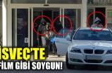 İsveç'te film gibi otomatik silahlı soygun!