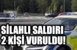 İsveç'te iki kişi vuruldu