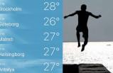 İsveç'te rekor sıcaklık: Soğuk hava dönüyor