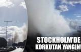 Stockholm'de korkutan orman yangını!