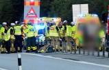 İsveç'te meydana gelen feci kazada 1 ölü 2 yaralı