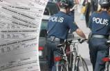 İsveç polisi 25 dakikada 20 bisikletçiye ceza kesti