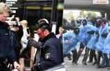 İsveç'te nazi yandaşları polisle çatıştı