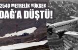 Uçak kazası 2540 metrede ölüm!