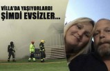 İsveçli aile çıkan yangından sonra evsiz kaldı