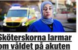 İsveç'te tehdit edilen Türk asıllı  hemşire görevi bırakmayı düşünüyor