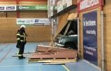 Korkunç kaza: Stockholm'de sarhoş sürücü spor salonuna daldı