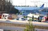 Arlanda havalimanı yolunda kaza!