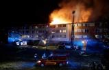 Göteborg'da çıkan yangında üç kişi yaralandı