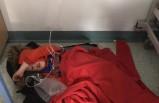 Hasta çocuğun 4 saat hastanede yerde yatması Başbakan'a özür diletti