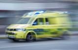 İsveç'te aşırı hız beş kişinin hastanelik olmasına neden oldu