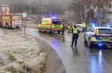 İsveç'te kazalar ve uyarılar- Mecbur kalmadıkça yola çıkmayın