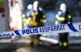 İsveç'te öfkeye kapılan kişi evi ateşi verdi