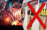 İsveç'te yeni yıl kutlamaları için bazı havai fişeklerin izinsiz kullanımı yasaklandı
