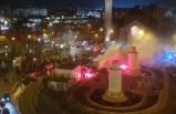 Paris'te Galatasaray taraftarlarına çirkin saldırı