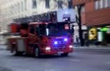 Stockholm'de mum'dan çıkan yangında iki kişi yaralandı