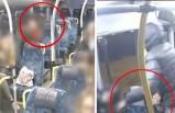 Stockholm otobüslerinde  kadınları hedef alan kapkaççının görüntüleri yayınlandı