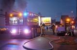Villa'da çıkan yangın panik yarattı