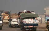13 bine yakın sivil Türkiye sınırı yakınlarına göç etti