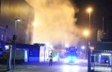 İsveç'teki önemli tesiste büyük yangın!