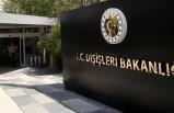 Dışişleri Bakanlığı'ndan AP skandalına sert tepki