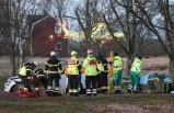 İsveç'te bir saat içinde 6 kaza meydana geldi