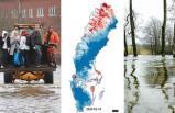 İsveç'te yağış nedeniyle yükselen sular tehlike arz ediyor