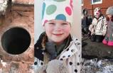 Küçük Selma İsveç'teki okulda kuyuya düştü