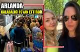 Arlanda havalimanında hiçbir tedbir yok diyerek isyan etti