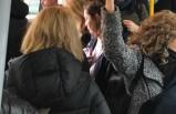 Stockholm'deki toplu taşıtlarda şaşkınlık yaratan kalabalık
