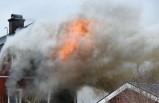 Villada çıkan yangında bir kişi hayatını kaybetti