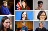 Dünyanın 8 kadın lideri Covid 19 ile mücadelede erkeklere fark attı