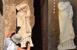 Antalya'da 1900 yıllık kadın heykeli bulundu
