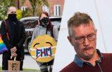 Tegnell ve İsveç stratejisi protesto edildi