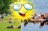 Haziran boyunca İsveç'te olağan dışı sıcaklar!