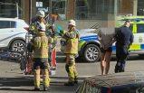 Stockholm'de bir kadını yüksek binadan attığı iddia edilen kişi gözaltına alındı
