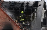 Almanya'da uçak faciası: Apartmanın üzerine düştü